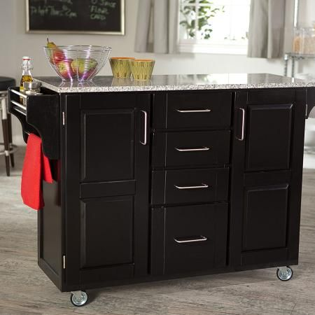 kitchen island moveable for easy cleaning