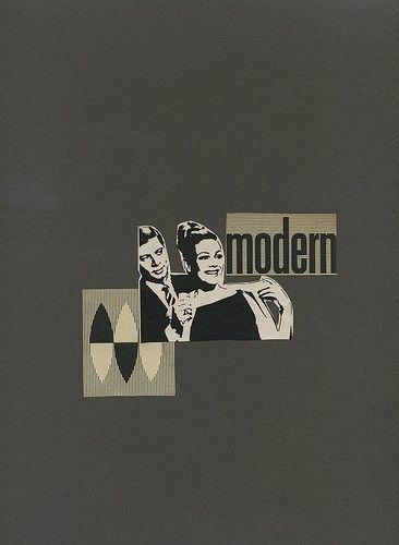 Modern.  Original collage by Vivienne Strauss.