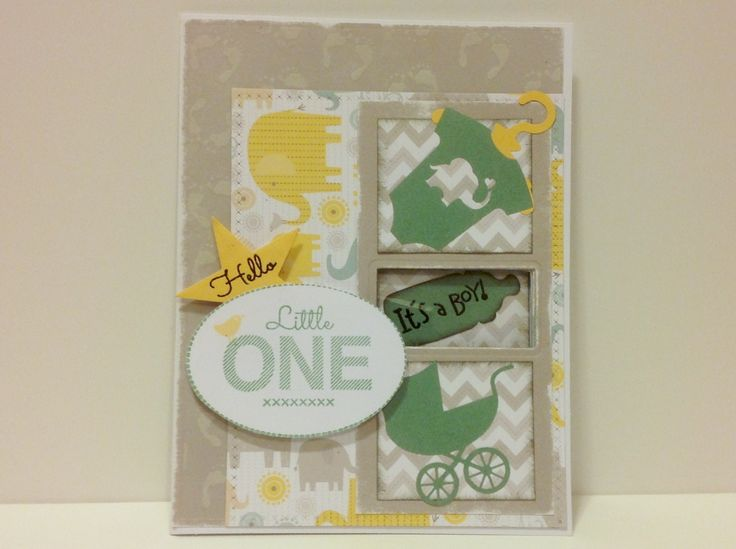 Baby card 2 front