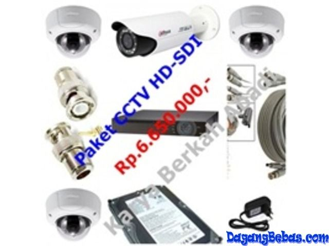 Pasang Camera CCTV High Definition ( HD ) Murah