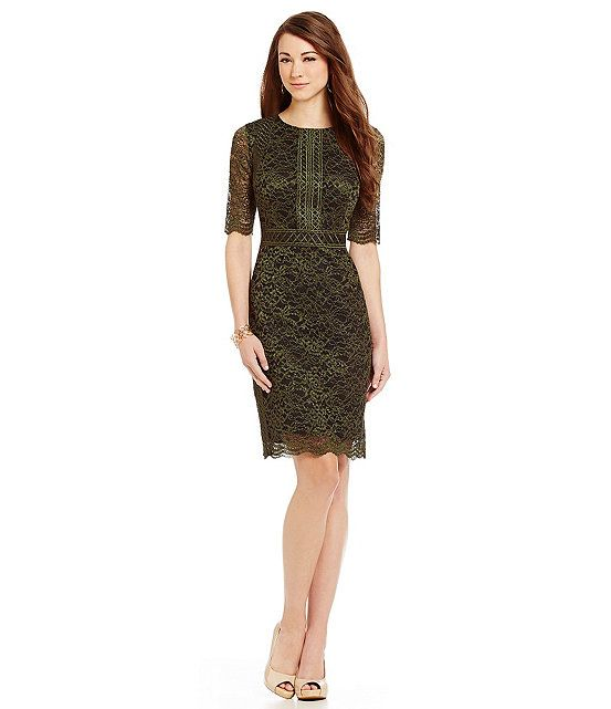 Antonio Melani Clarckson Lace Dress