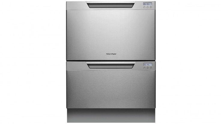 Fisher & Paykel Double DishDrawer Built-In Dishwasher - Stainless Steel - Dishwashers - Appliances - Kitchen Appliances | Harvey Norman Australia