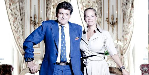 LCFR  is the Late Edmonde de Rothschild 's Private Banking business now managed by his son Benjamin De Rothschild and daughter in law Arianne de Rothschild .The Edmonde de Rothschild group has assets under management of 184 billion dollars  Benjamin de Rothschilds mother was a Catholic actress  who converted to Judaism