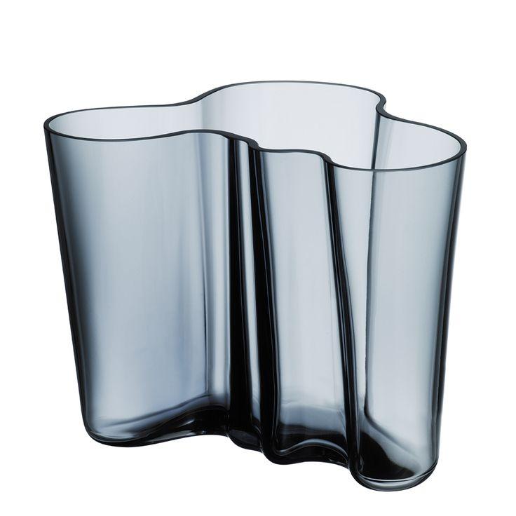 Alvar Aalto Vase 160 mm, Regn, Iittala