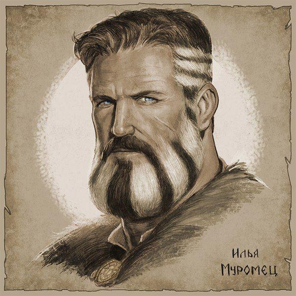 m Bard portrait Strip just don't ask him why. Илья Муромец