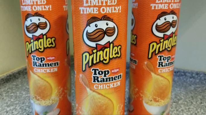 Pringles Top Ramen Chicken flavor hits store shelves — but not i - Hawaii News Now - KGMB and KHNL