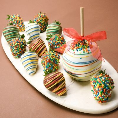 fun chocolate covered fruit