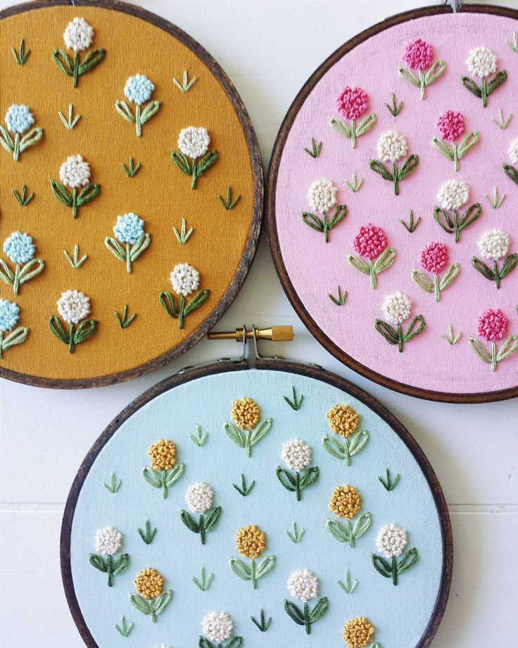 Best french knots images on pinterest embroidery