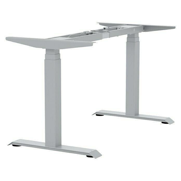 Tischgestell E More Breitenverstellbar 1 100 Mm 1 800 Mm Hohenverstellbar 600 Mm 1 250 Mm Aluminium In 2021 Tischgestell Tisch Aluminium