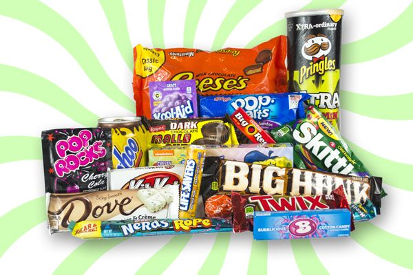 American Candy Hamper Taffy Mail Extra