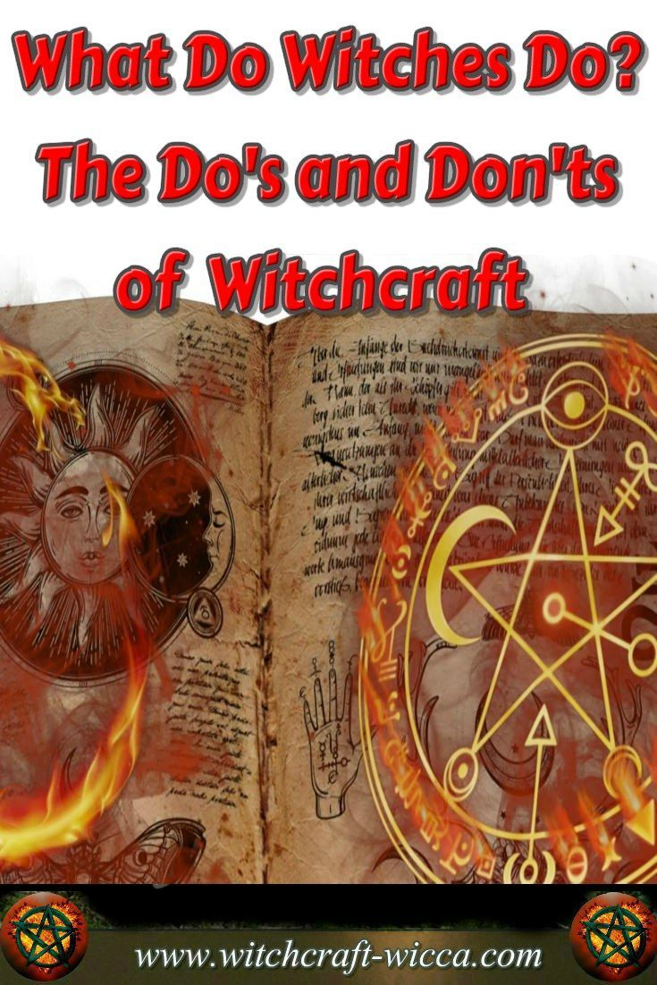 What Do Witches Do - the Do's and Don'ts of Modern Witch- You are entering into a deep lineage by calling yourself a witch. It's not to be taken lightly. It's using energy in powerful ways. Be careful and be responsible. via @wicca_witchcraft