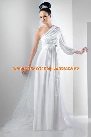 Bari Jay White Robe de Mariée - Style 2011