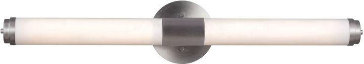 0-010860>Valverde 1-Light LED Wall Sconce Satin Aluminum