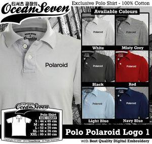 Kaos Polo Polaroid Logo 1 - PIN BB: 26460DF6