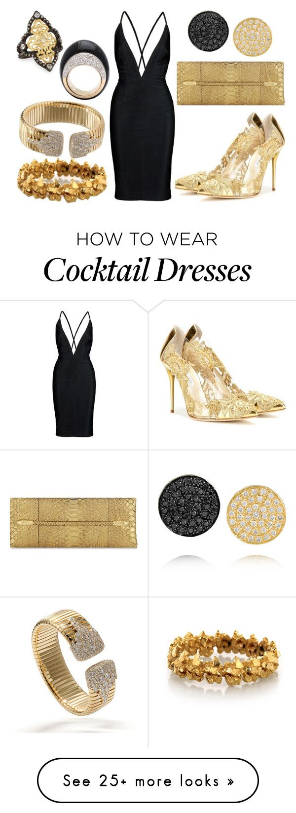 """Nightie"" by dotsandpots on Polyvore featuring Oscar de la Renta, Ileana Makri, Armenta, Tom Ford, Imogen Belfield, women's clothing, women's fashion, women, female and woman"