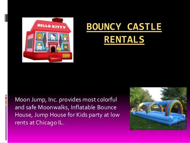 Visit our site http://moonjump.net/contact/contact.php for more information on Best Inflatable Slides.Renting Bouncy Castle and other play inflatables for children's parties and family members activities etc. is a wonderful residence business to be in either full time or part time, and the profits can be high, and also the fun aspect!
