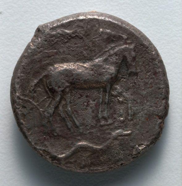 Tetradrachm, 478-467 BC Greece, 5th Century BC  silver