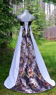 Camouflage Prom Dresses | ... dress redneck wedding dress camouflage prom dresses camo wedding rings