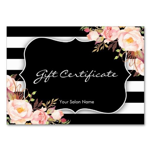 free beauty gift voucher template - 23 best images about spa massage beauty salon gift