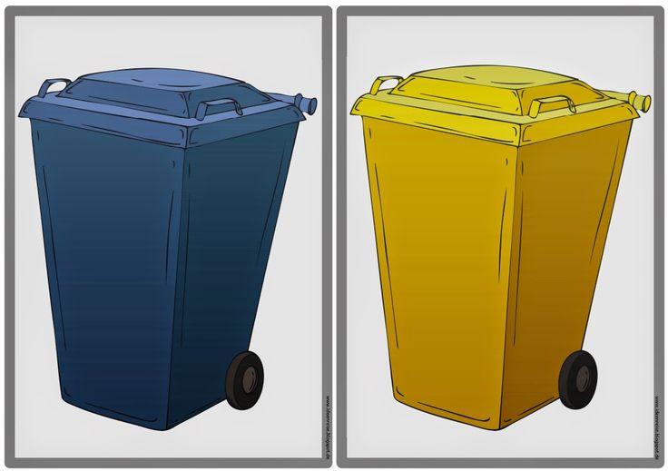 """Sachunterricht in der Grundschule: Tafelmaterial zum Thema """"Müll/Recycling"""""""