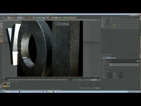 ▶ Cinema 4D Tetxuring Tutorial - YouTube