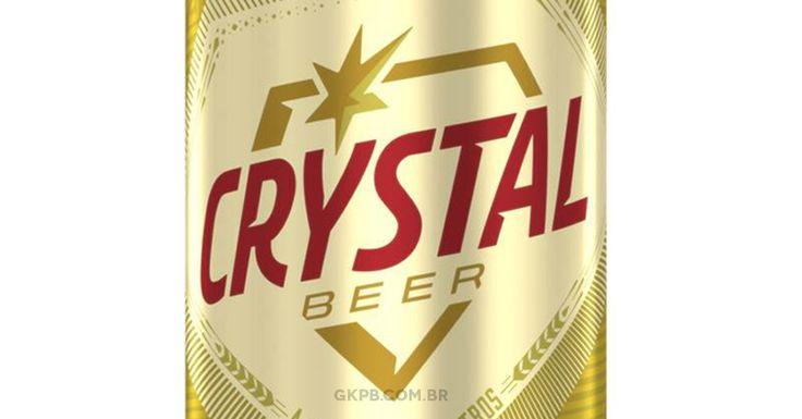 Cerveja Crystal ganha novo logo e nova identidade visual