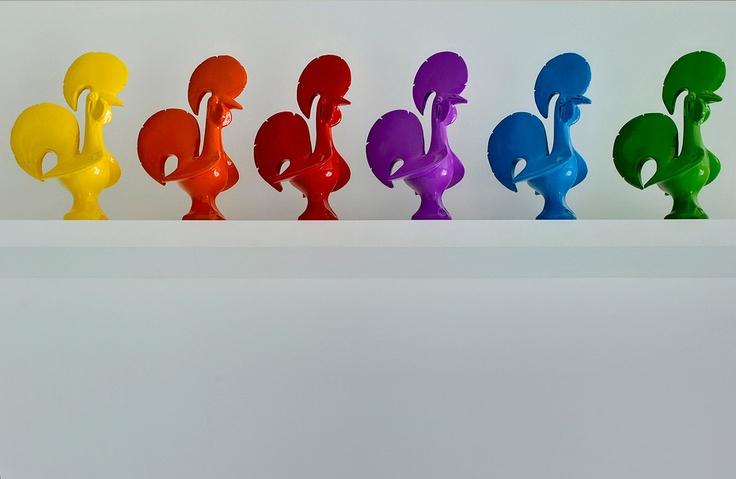 Galo Pop Minimal (Galo de Barcelos) - Águas Furtadas Design - Portugal