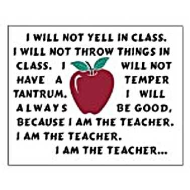 I am the teacher....: Laughing, Classroom, Schools Quotes, Friends, Funnies, Things, Education, Teacher Quotes, Teacher Humor