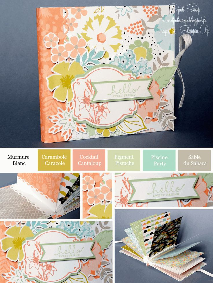 Stampin'Up! - Mini Album Sale A Bration Blog Hop