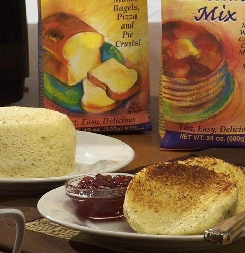 Amazing Bread in About a Minute | Pamela's Products    This uses gluten free flour but it might work for regular flour. We don't have a microwave so I use the oven and have experimented with a bunch of different temps and times they all turn out pretty darn good.