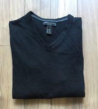 Banana Republic Mens V Neck Sweater Blend Silk Cashmere M | eBay