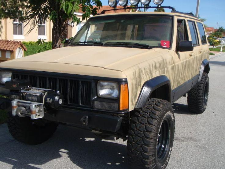 Desert Tan Custom Paint Rims Jeep Cherokee Forum