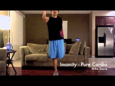 Insanity's Pure Cardio Full Workout