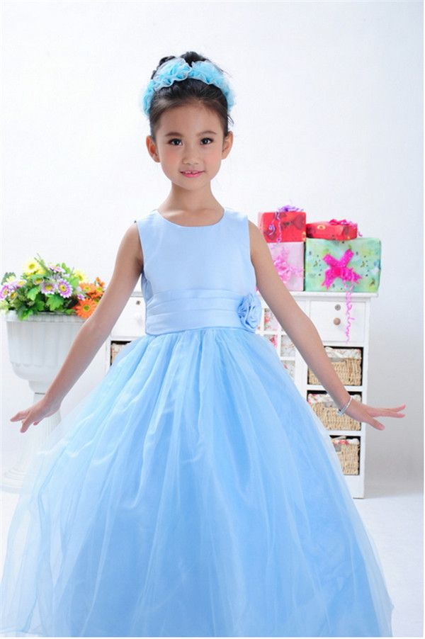 Goedkope , koop rechtstreeks van Chinese leveranciers: Retail!!! 2014 nieuwe aankomst van hoge kwaliteit meisjes zomer jurken meisjes tule jurk kinderen christmas party jurk bruiloft bloem meisje jurkmaattabel&nbs