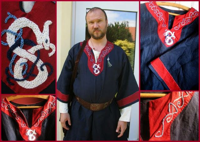 anglo-saxon garb made for a viking wedding of my friends