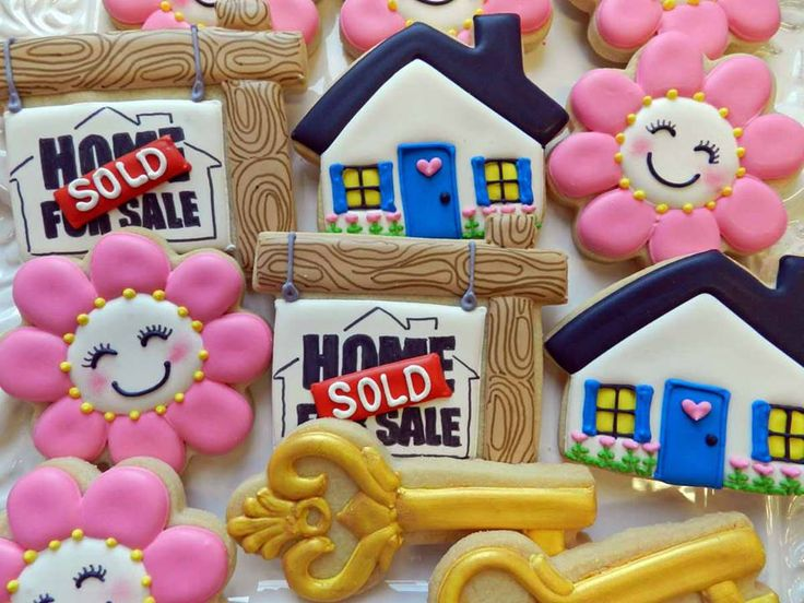 Best House New House Decorated Cookies Images On Pinterest