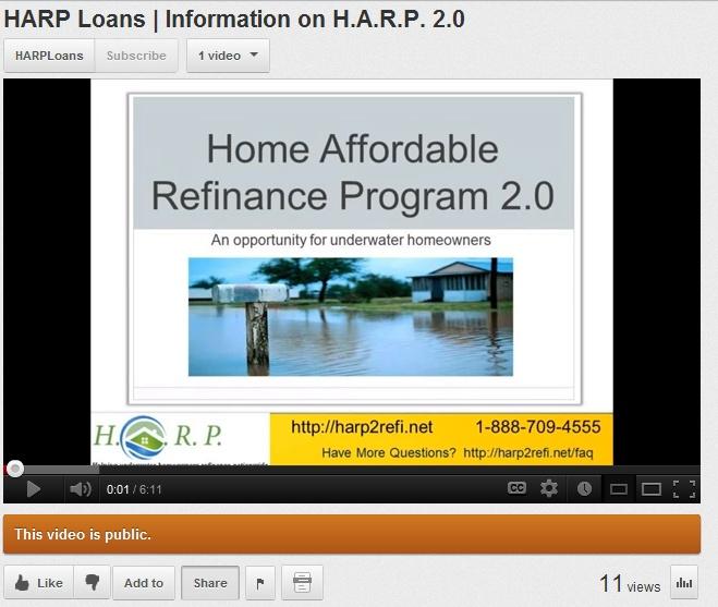 Harp 2 Information Underwater Refinance Help Pinterest