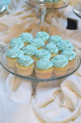 tiffany blue wedding ideas, tiffany blue cake, tiffany blue cupcakes by and Flower Designs