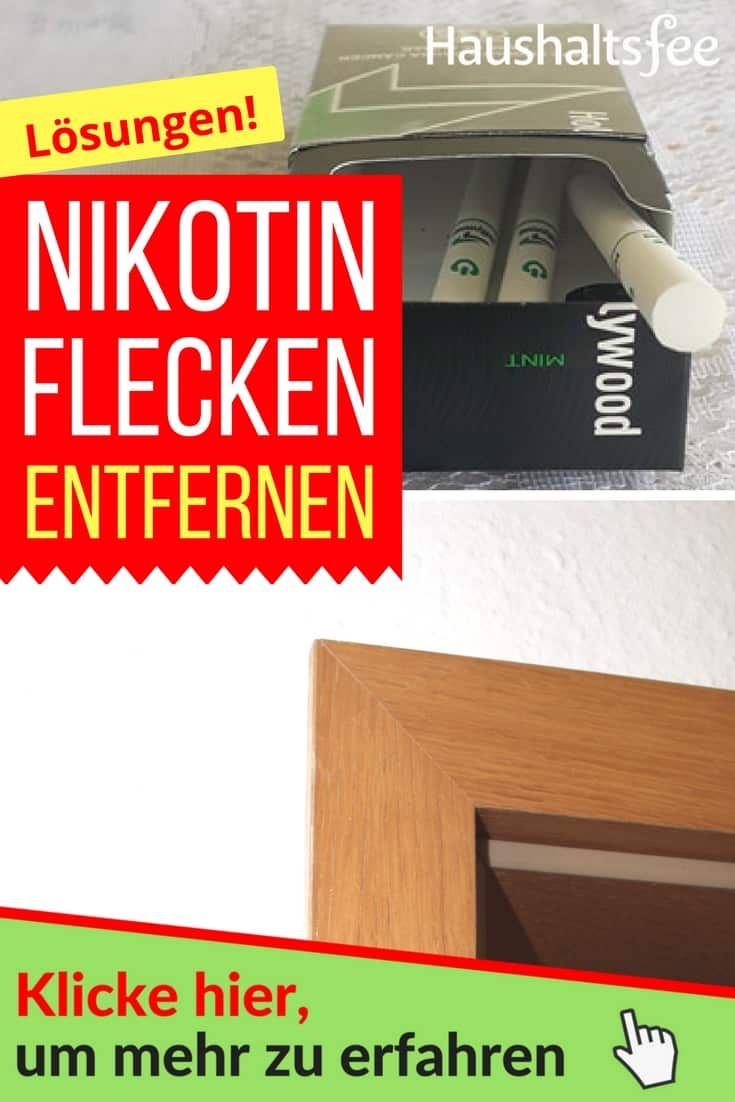 Nikotin Entfernen Von Turen Und Fenstern Reinigen