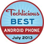 The Best Android Smartphone - July, 2013 - Techlicious