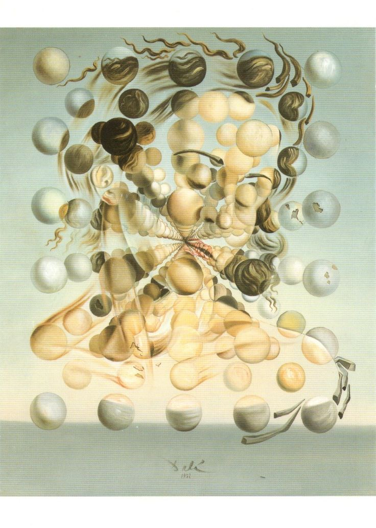 ES-347060 - Arrived: 2015.04.13   ---   Dalí - Galatea of the Spheres (1952)
