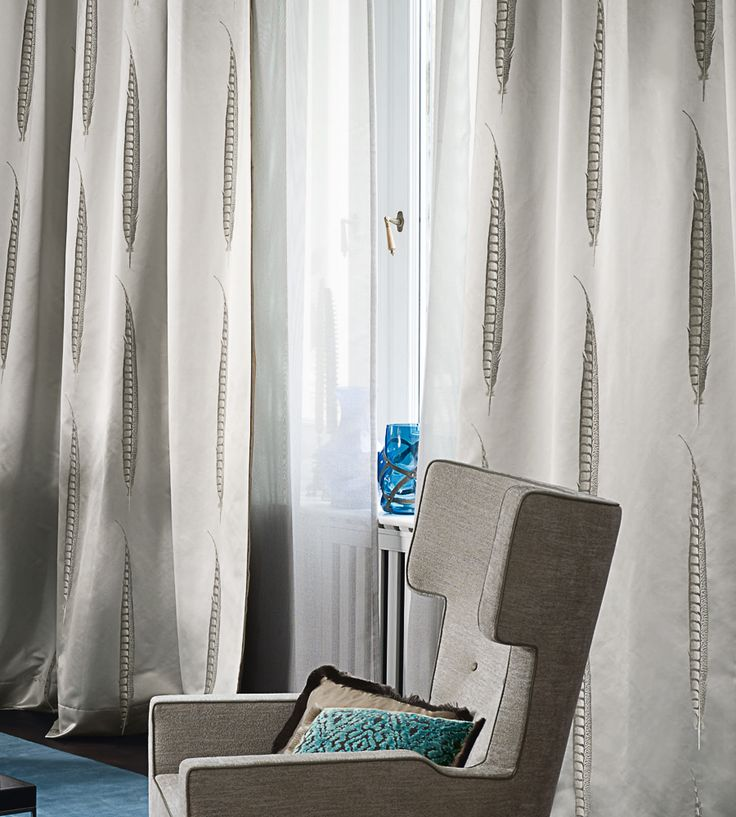 Feathers | Star Fabric by Zimmer + Rohde | Jane Clayton