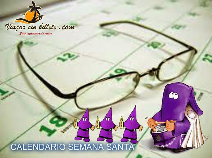 CALENDARIO SEMANA SANTA