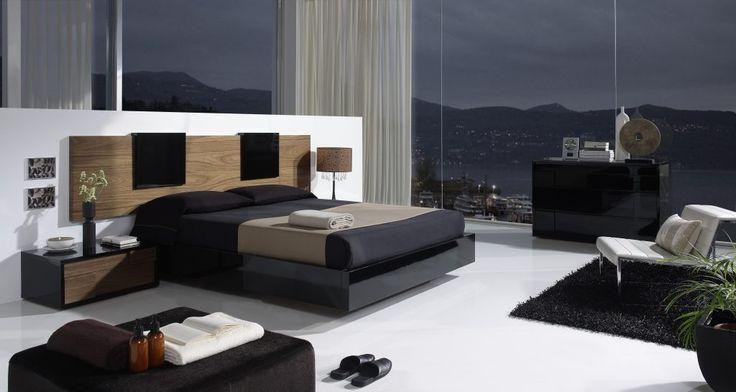 Cabecero moderno para un dormitorio de matrimonio