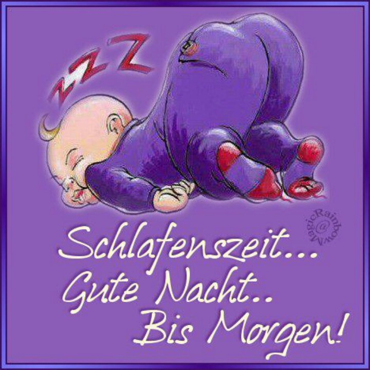 Gute Nacht!....    Good Night!