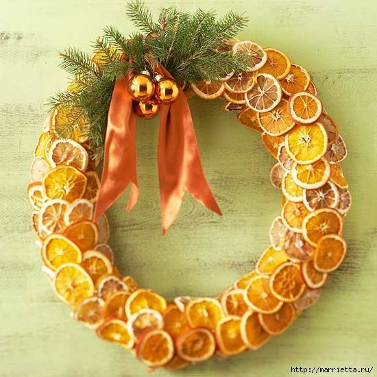 Christmas garland. I need to make this for my mom. She loves oranges so much during Christmas time.