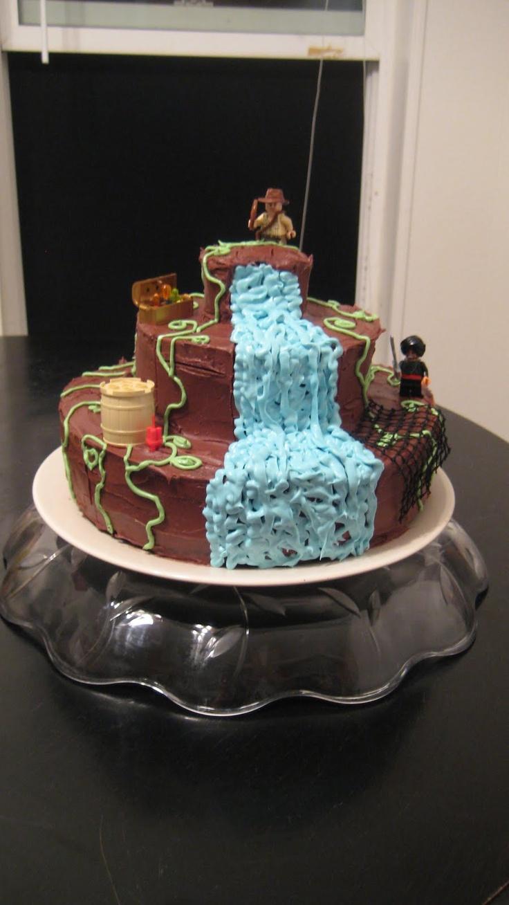 An Indiana Jones cake and favor idea