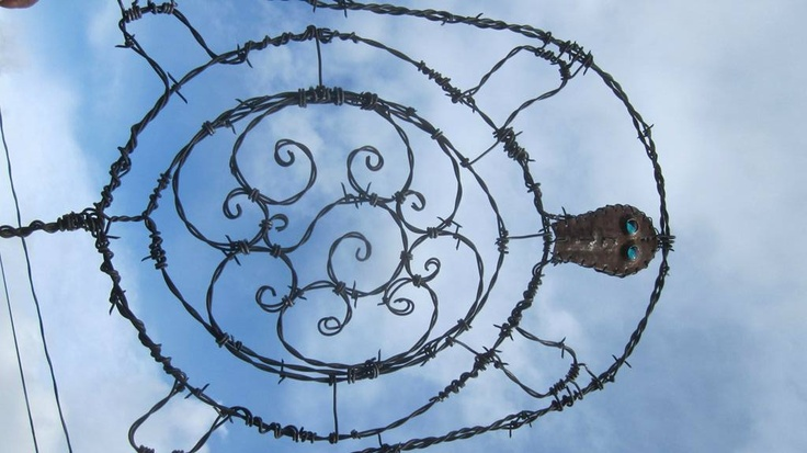 17 best images about barb wire art on pinterest horse for Wire art projects