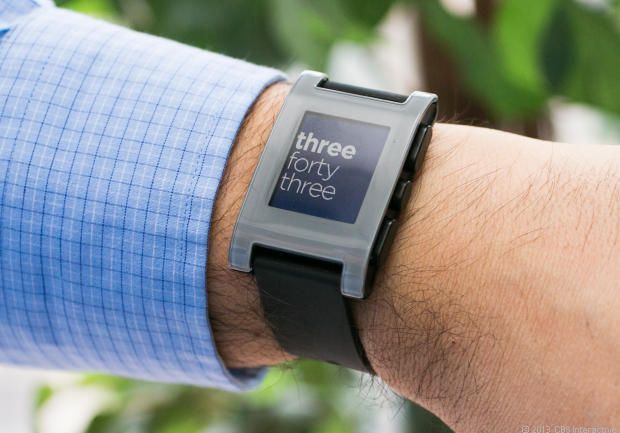 Pebble Watch Review - Watch CNET's Video Review.  A watch that's really a smart phone.  Connects via bluetooth