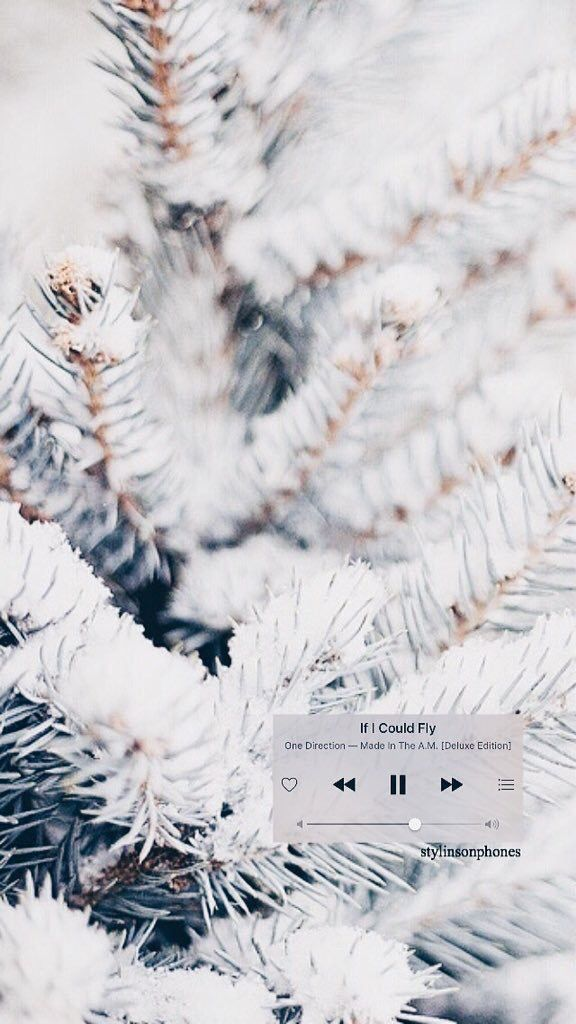 """If I Could Fly"" Winter Lockscreen 